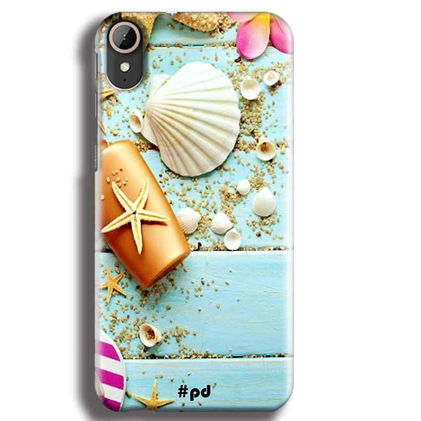 HTC Desire 830 Mobile Covers Cases Pearl Star Fish - Lowest Price - Paybydaddy.com