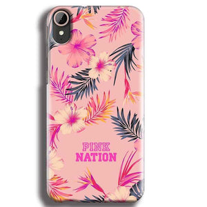 HTC Desire 830 Mobile Covers Cases Pink nation - Lowest Price - Paybydaddy.com