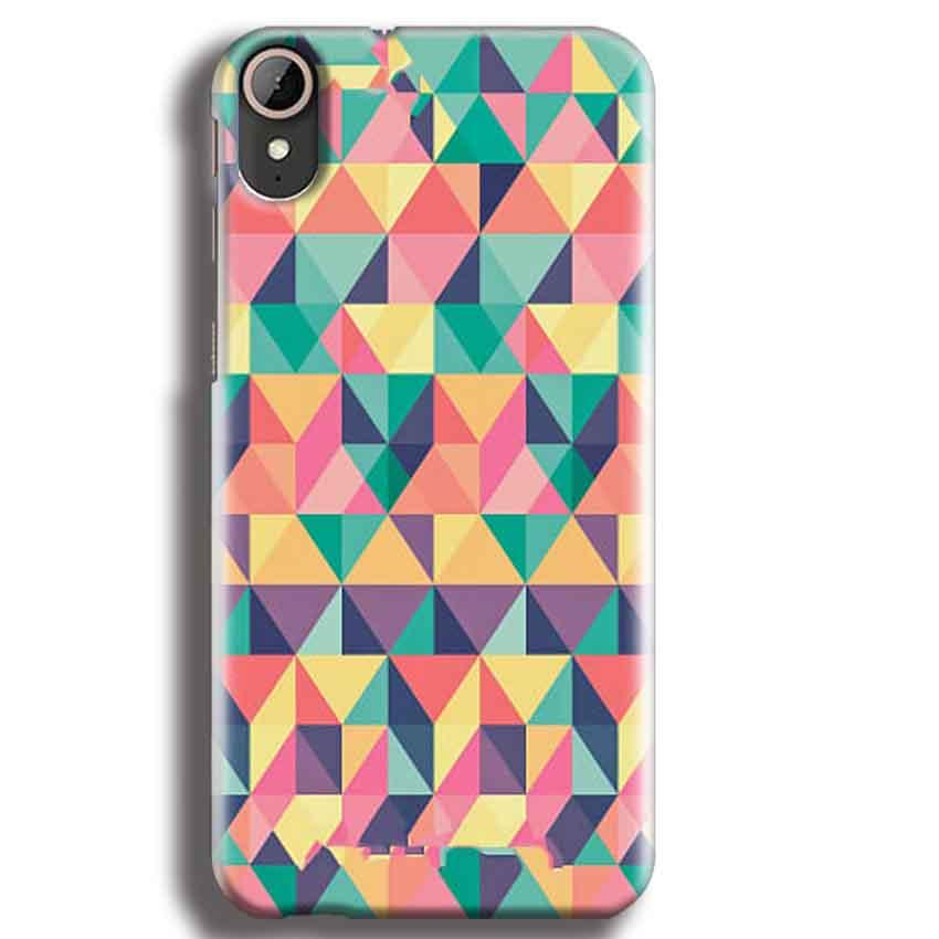 HTC Desire 830 Mobile Covers Cases Prisma coloured design - Lowest Price - Paybydaddy.com