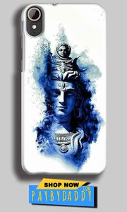 HTC Desire 830 Mobile Covers Cases Shiva Blue White - Lowest Price - Paybydaddy.com