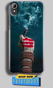 HTC Desire 830 Mobile Covers Cases Shiva Hand With Clilam - Lowest Price - Paybydaddy.com