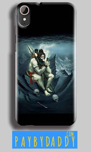HTC Desire 830 Mobile Covers Cases Shiva Smoking - Lowest Price - Paybydaddy.com