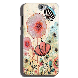 HTC One A9 Mobile Covers Cases Deep Water Jelly fish- Lowest Price - Paybydaddy.com
