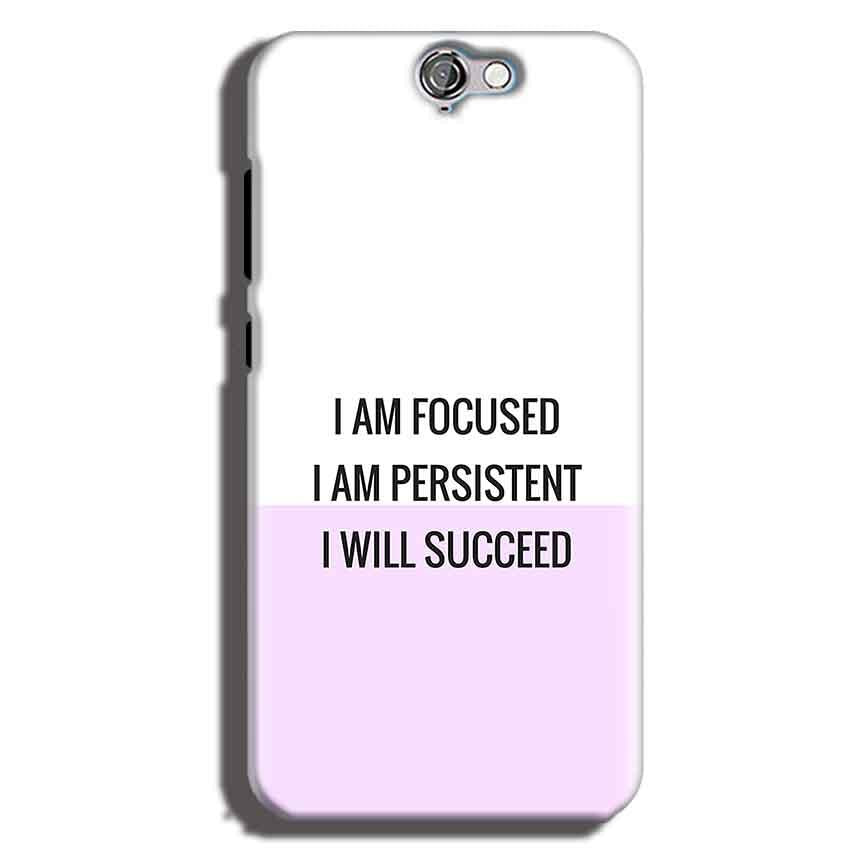 HTC One A9 Mobile Covers Cases I am Focused - Lowest Price - Paybydaddy.com