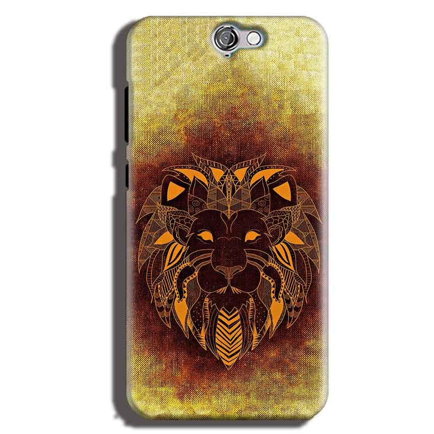 HTC One A9 Mobile Covers Cases Lion face art - Lowest Price - Paybydaddy.com