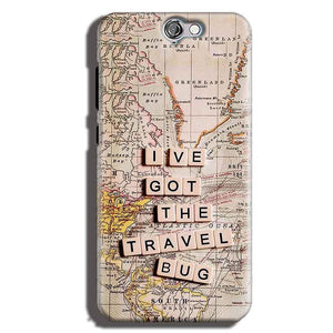 HTC One A9 Mobile Covers Cases Live Travel Bug - Lowest Price - Paybydaddy.com