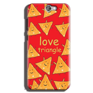HTC One A9 Mobile Covers Cases Love Triangle - Lowest Price - Paybydaddy.com