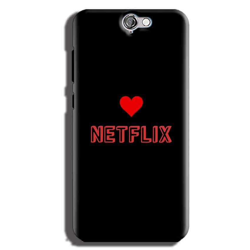 HTC One A9 Mobile Covers Cases NETFLIX WITH HEART - Lowest Price - Paybydaddy.com