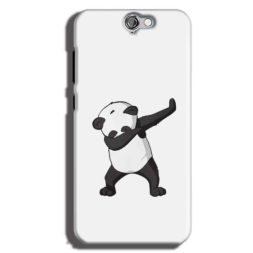 HTC One A9 Mobile Covers Cases Panda Dab - Lowest Price - Paybydaddy.com