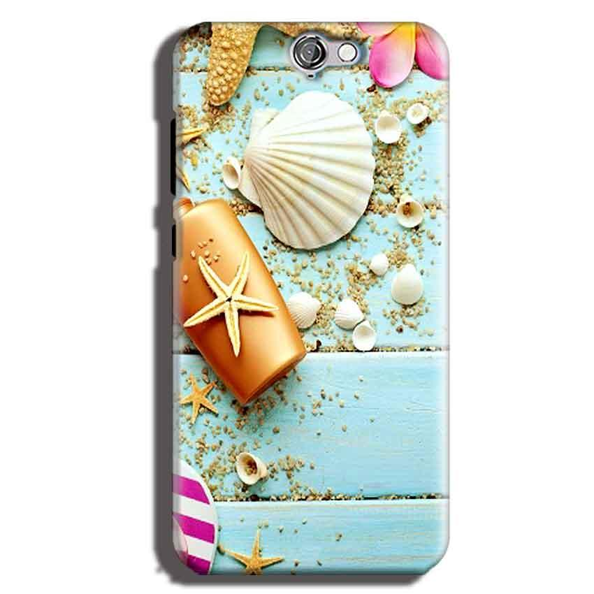 HTC One A9 Mobile Covers Cases Pearl Star Fish - Lowest Price - Paybydaddy.com