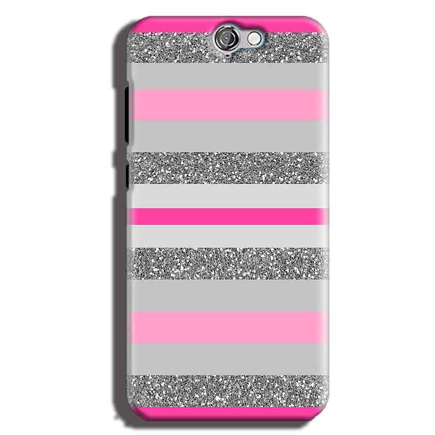 HTC One A9 Mobile Covers Cases Pink colour pattern - Lowest Price - Paybydaddy.com