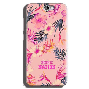 HTC One A9 Mobile Covers Cases Pink nation - Lowest Price - Paybydaddy.com