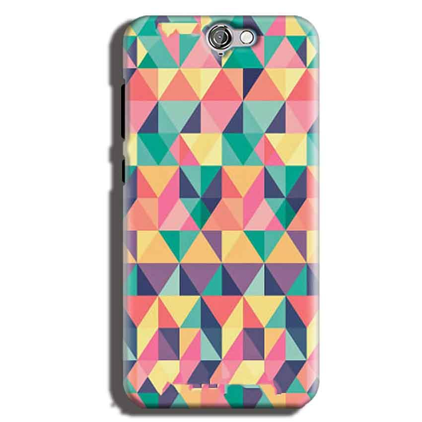 HTC One A9 Mobile Covers Cases Prisma coloured design - Lowest Price - Paybydaddy.com