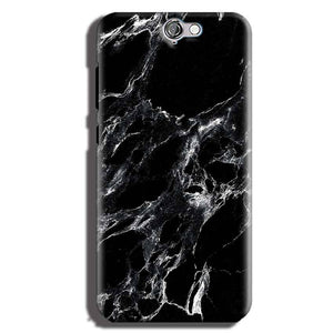 HTC One A9 Mobile Covers Cases Pure Black Marble Texture - Lowest Price - Paybydaddy.com