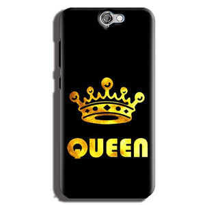 HTC One A9 Mobile Covers Cases Queen With Crown in gold - Lowest Price - Paybydaddy.com