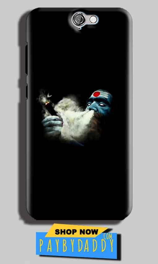 HTC One A9 Mobile Covers Cases Shiva Aghori Smoking - Lowest Price - Paybydaddy.com