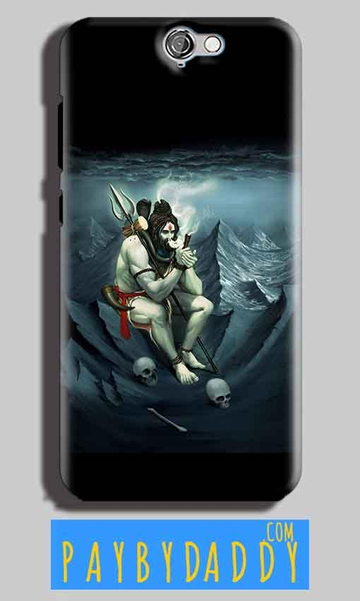 HTC One A9 Mobile Covers Cases Shiva Smoking - Lowest Price - Paybydaddy.com