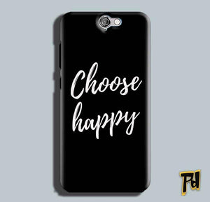 HTC One A9 Mobile Covers Cases Choose happy - Lowest Price - Paybydaddy.com