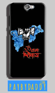 HTC One A9 Mobile Covers Cases om namha shivaye with damru - Lowest Price - Paybydaddy.com