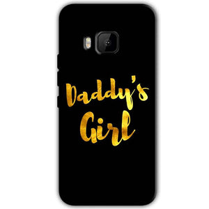 HTC One M9 Mobile Covers Cases Daddys girl - Lowest Price - Paybydaddy.com