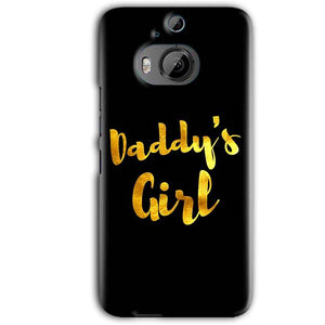 HTC One M9 Plus Mobile Covers Cases Daddys girl - Lowest Price - Paybydaddy.com