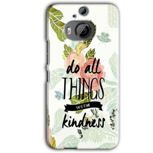 HTC One M9 Plus Mobile Covers Cases Do all things with kindness - Lowest Price - Paybydaddy.com