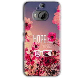 HTC One M9 Plus Mobile Covers Cases Hope in the Things Unseen- Lowest Price - Paybydaddy.com