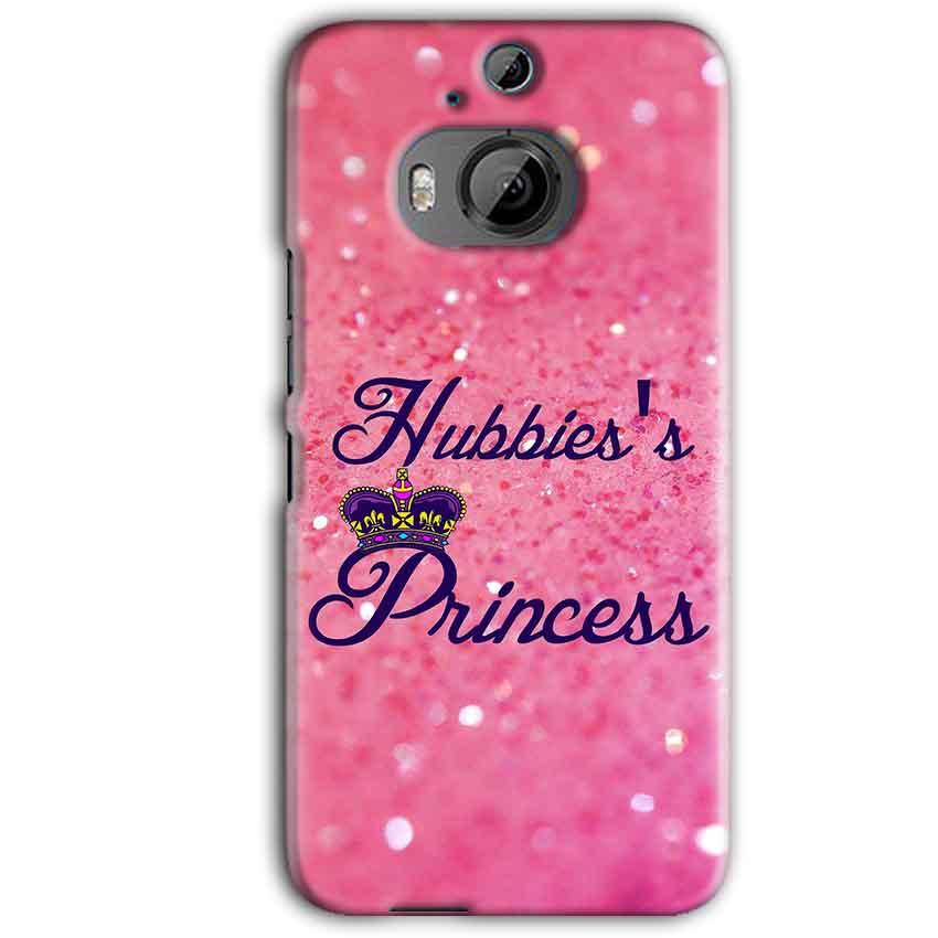 HTC One M9 Plus Mobile Covers Cases Hubbies Princess - Lowest Price - Paybydaddy.com