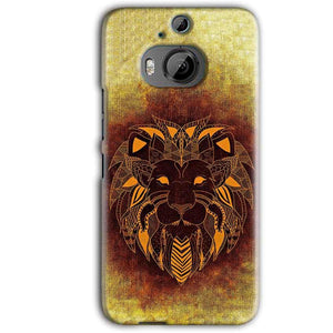 HTC One M9 Plus Mobile Covers Cases Lion face art - Lowest Price - Paybydaddy.com