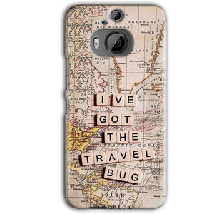 HTC One M9 Plus Mobile Covers Cases Live Travel Bug - Lowest Price - Paybydaddy.com