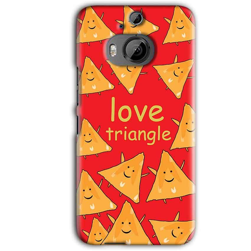 HTC One M9 Plus Mobile Covers Cases Love Triangle - Lowest Price - Paybydaddy.com
