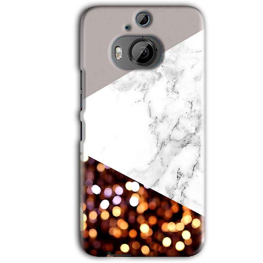 HTC One M9 Plus Mobile Covers Cases MARBEL GLITTER - Lowest Price - Paybydaddy.com