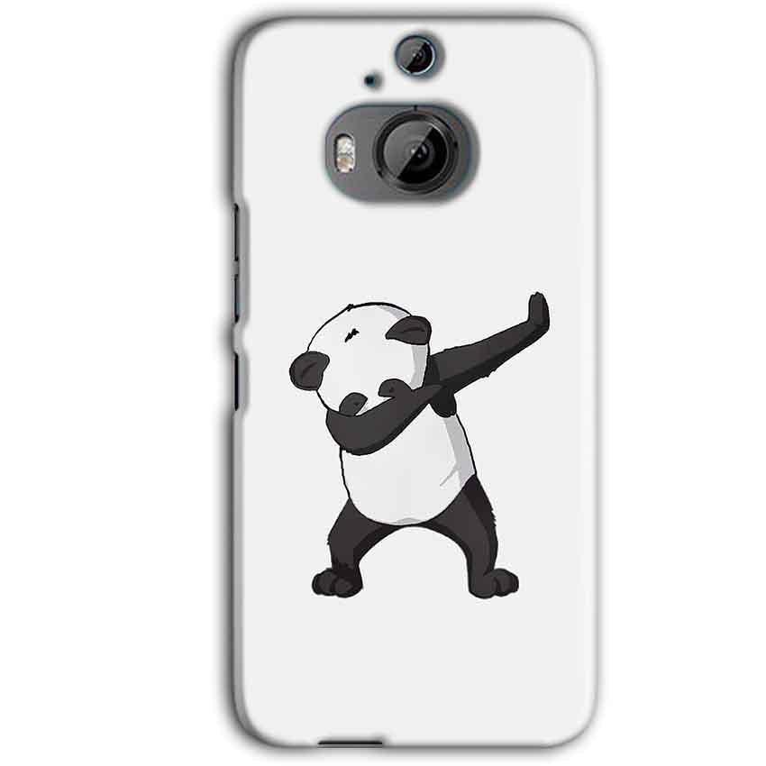 HTC One M9 Plus Mobile Covers Cases Panda Dab - Lowest Price - Paybydaddy.com
