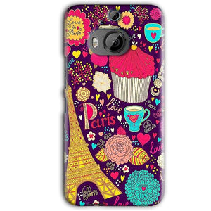 HTC One M9 Plus Mobile Covers Cases Paris Sweet love - Lowest Price - Paybydaddy.com