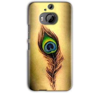 HTC One M9 Plus Mobile Covers Cases Peacock coloured art - Lowest Price - Paybydaddy.com