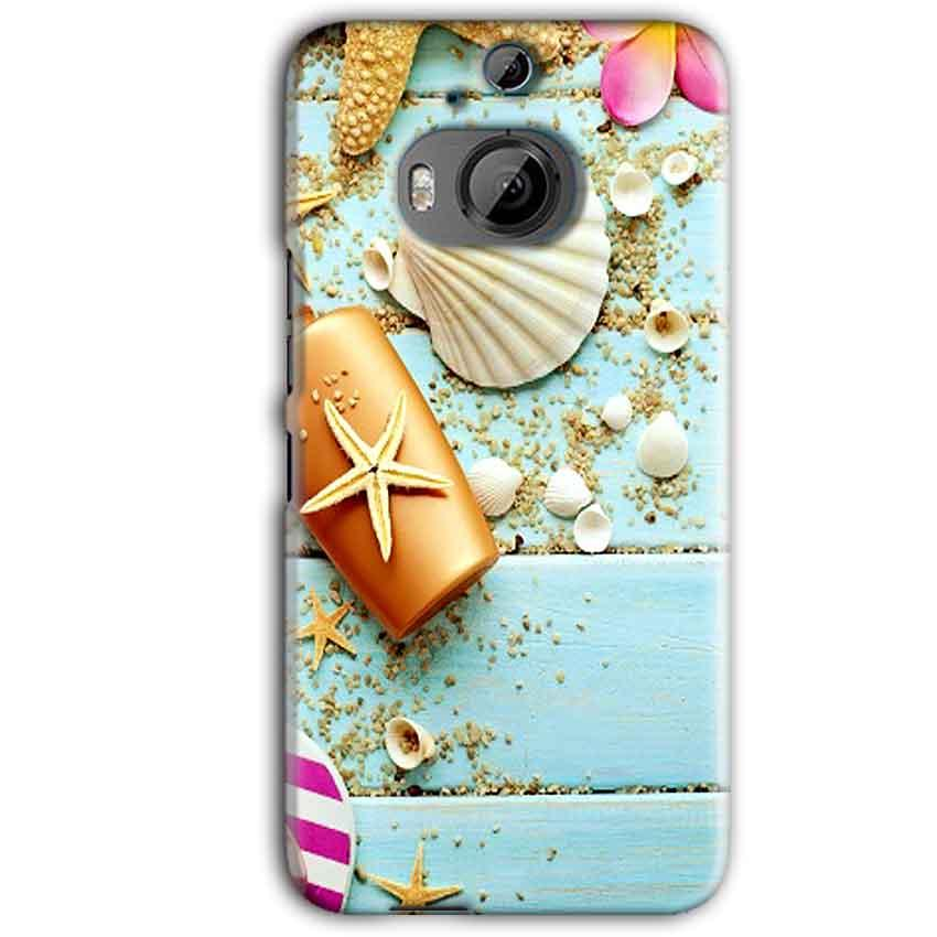 HTC One M9 Plus Mobile Covers Cases Pearl Star Fish - Lowest Price - Paybydaddy.com