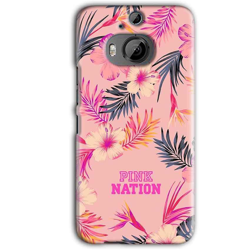 HTC One M9 Plus Mobile Covers Cases Pink nation - Lowest Price - Paybydaddy.com
