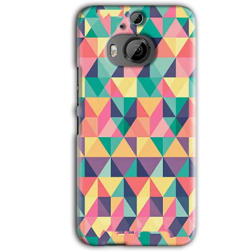 HTC One M9 Plus Mobile Covers Cases Prisma coloured design - Lowest Price - Paybydaddy.com
