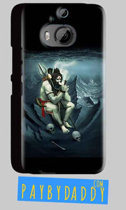 HTC One M9 Plus Mobile Covers Cases Shiva Smoking - Lowest Price - Paybydaddy.com