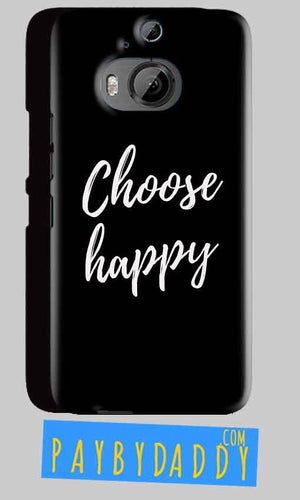 HTC One M9 Plus Mobile Covers Cases Choose happy - Lowest Price - Paybydaddy.com