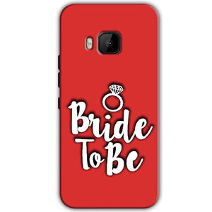 HTC One M9 Mobile Covers Cases bride to be with ring - Lowest Price - Paybydaddy.com