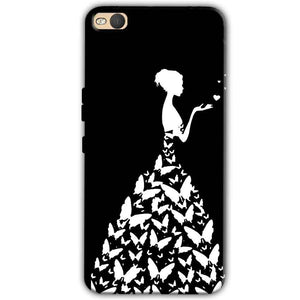 HTC One X9 Mobile Covers Cases Butterfly black girl - Lowest Price - Paybydaddy.com