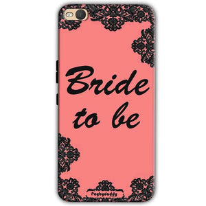 HTC One X9 Mobile Covers Cases Mobile Covers Cases bride to be with ring Black Pink - Lowest Price - Paybydaddy.com