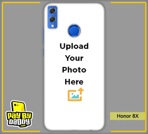 Customized Honor 8X Back Mobile Phone Covers & Back Covers with your Text & PhotoPhoto Cover,Custom Cover,Picture With Cover
