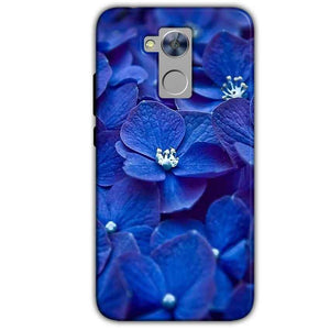 Honor Holly 4 Plus Mobile Covers Cases Blue flower - Lowest Price - Paybydaddy.com