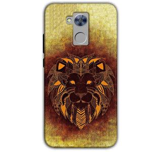 Honor Holly 4 Plus Mobile Covers Cases Lion face art - Lowest Price - Paybydaddy.com