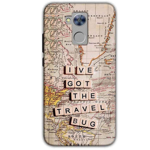 Honor Holly 4 Plus Mobile Covers Cases Live Travel Bug - Lowest Price - Paybydaddy.com
