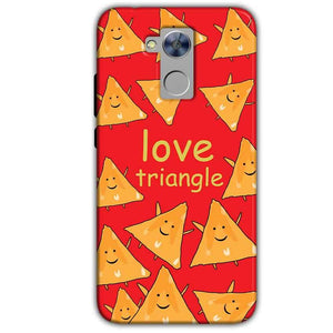 Honor Holly 4 Plus Mobile Covers Cases Love Triangle - Lowest Price - Paybydaddy.com