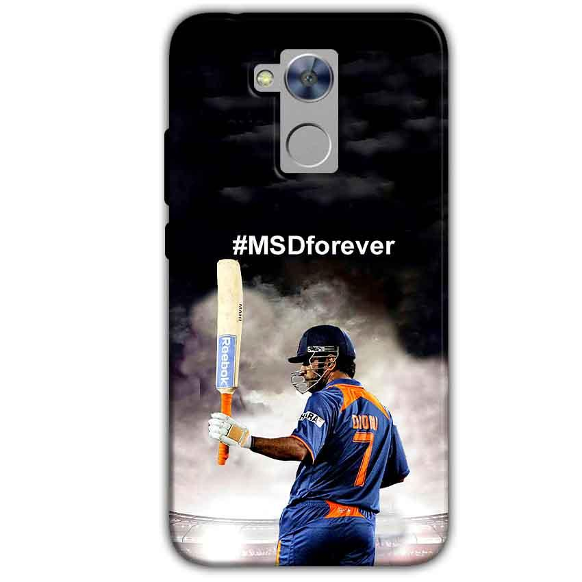 Honor Holly 4 Plus Mobile Covers Cases MS dhoni Forever - Lowest Price - Paybydaddy.com
