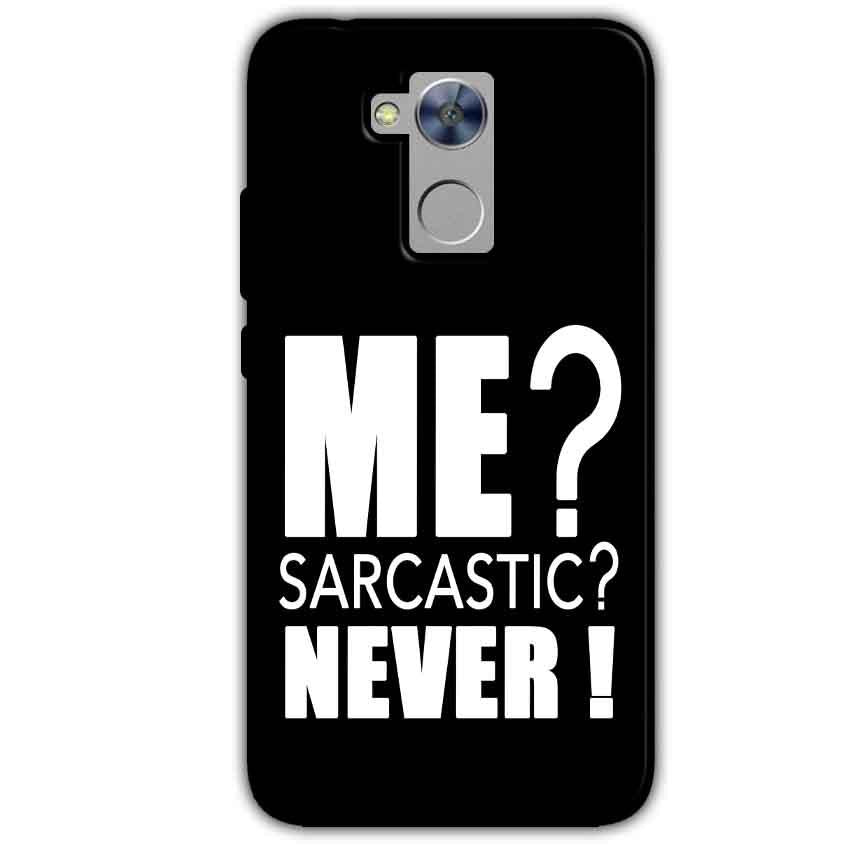 Honor Holly 4 Plus Mobile Covers Cases Me sarcastic - Lowest Price - Paybydaddy.com